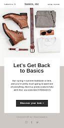 Let's Get Back to Basics - Medium Email item