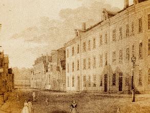 Photo: De nieuwbouw van de Vereniging ten behoeve der Arbeidersklasse in 1863
