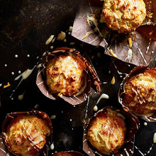 Tangerine and Marzipan Muffins Recipe