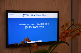 Photo: Tom Kyte's session was full