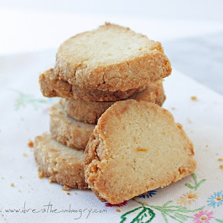 Lemon Almond Shortbread Cookies (LC & GF) Recipe