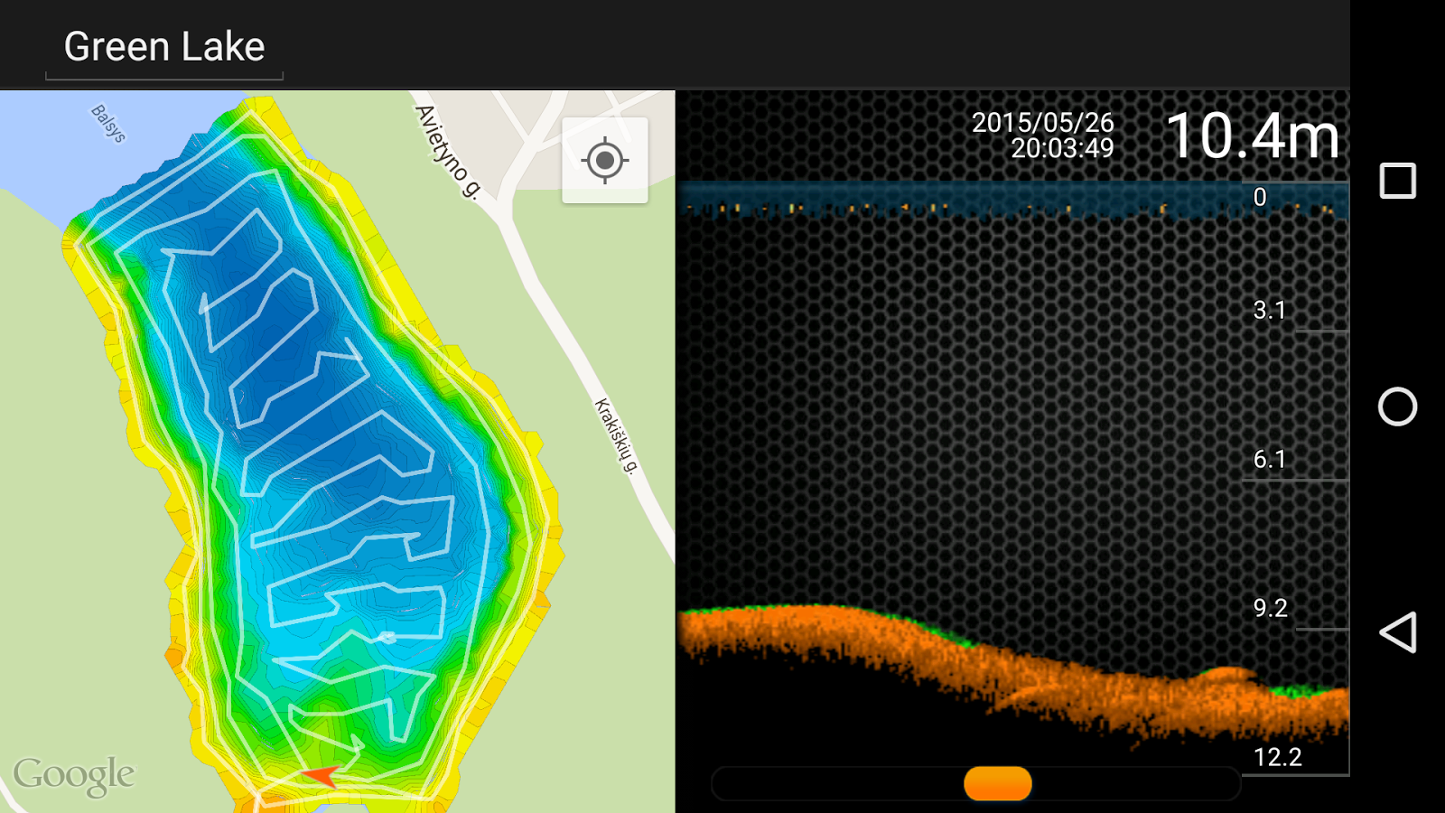 deeper - smart sonar - android apps on google play, Fish Finder