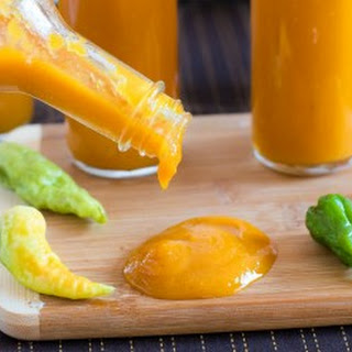 Roasted Ghost Pepper Sauce.