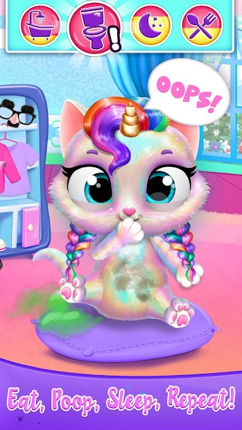 Twinkle - Unicorn Cat Princess Android App Screenshot