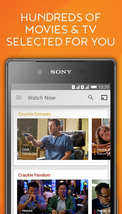 Crackle - Free TV & Movies: screenshot