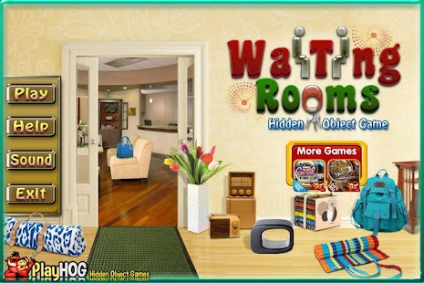 Challenge #172 Waiting Room New Free Hidden Object - náhled
