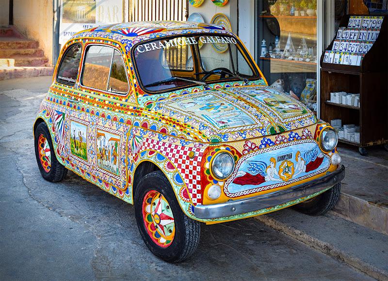 Italian custom car di Nevio Saule