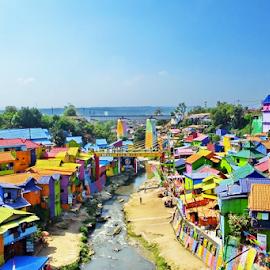 Jodipan Village, Malang, East Java by Ibnu Hibban - Buildings & Architecture Homes