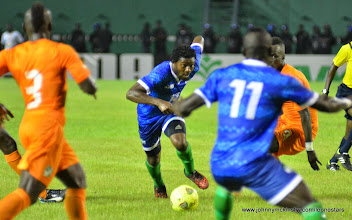 Photo: Michael Lahoud   [Leone Stars v Ivory Coast, 6 September 2014 (Pic © Darren McKinstry / www.johnnymckinstry.com)]