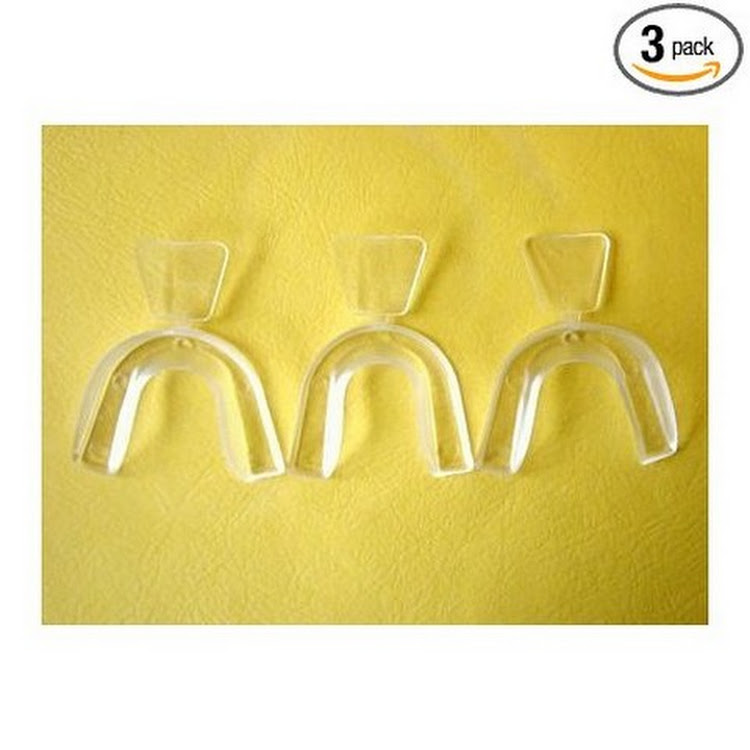 DIY (Do It Yourself) Moldable Thermofitting Teeth Whitening Trays- 3 trays by Supermodels Secrets