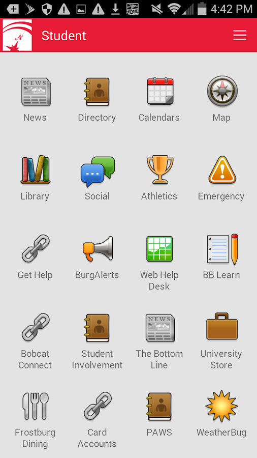 Frostburg State Mobile- screenshot