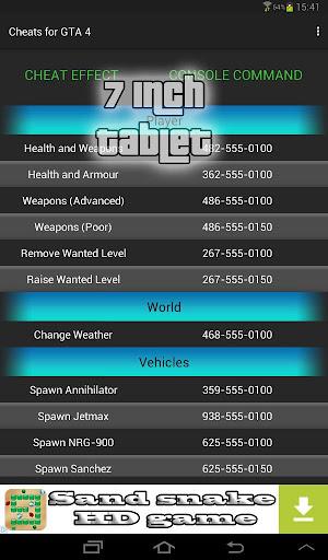 Cheats guide for GTA 4 1.5.1 screenshots 5