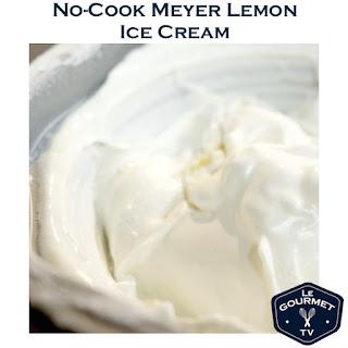 No-Cook Meyer Lemon Ice Cream