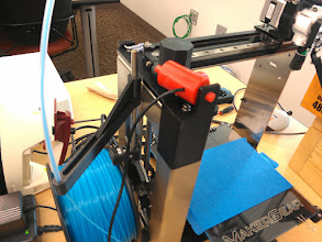 Photo: Printed a webcam mount for the printer.