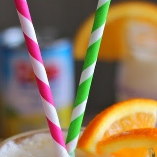 Frothy Sunrise Punch