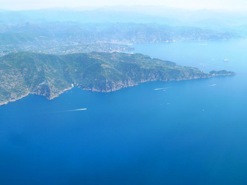 Photo: Approaching Liguria, Italy