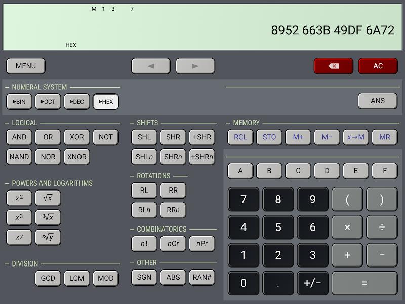 HiPER Calc Pro Screenshot 14