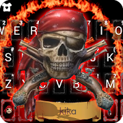 App Pirate Skull Fire Keyboard Theme APK for Windows Phone
