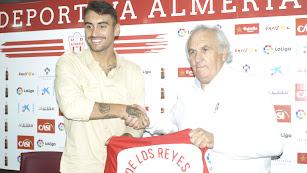 Samu de los Reyes ha vuelto a España gracias al Almería.