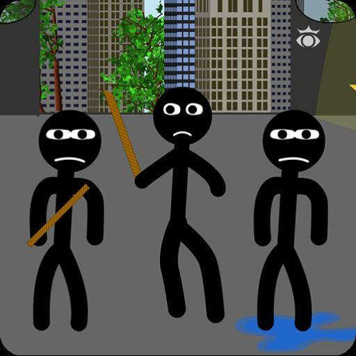 Stick fight escape