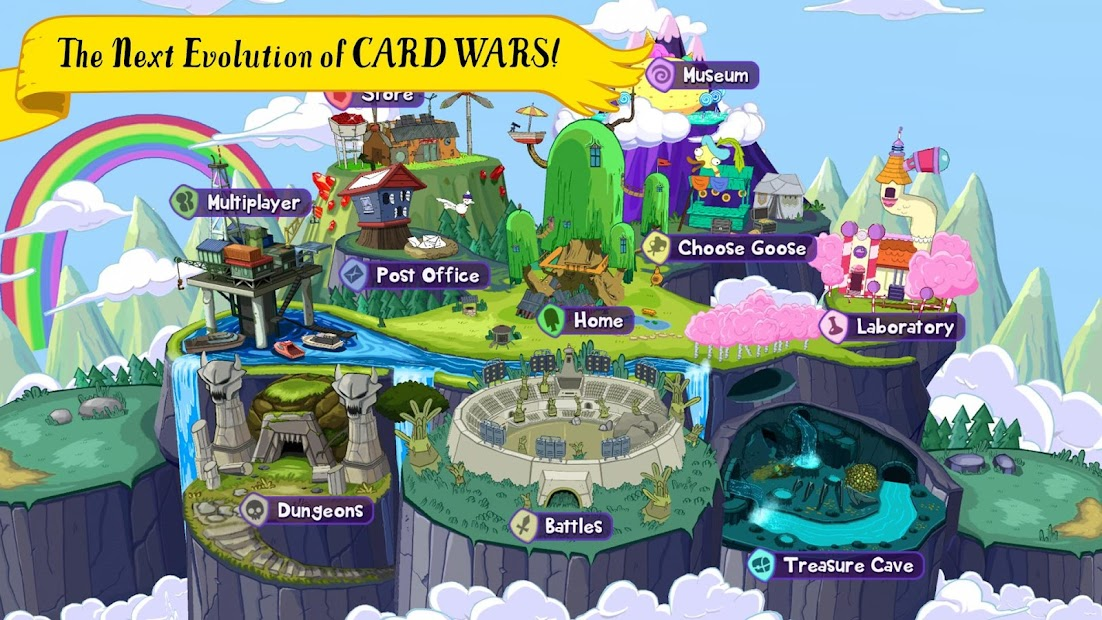 Card Wars Kingdom Android App Screenshot