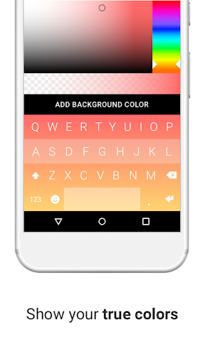 Fleksy + GIF Keyboard Screenshot