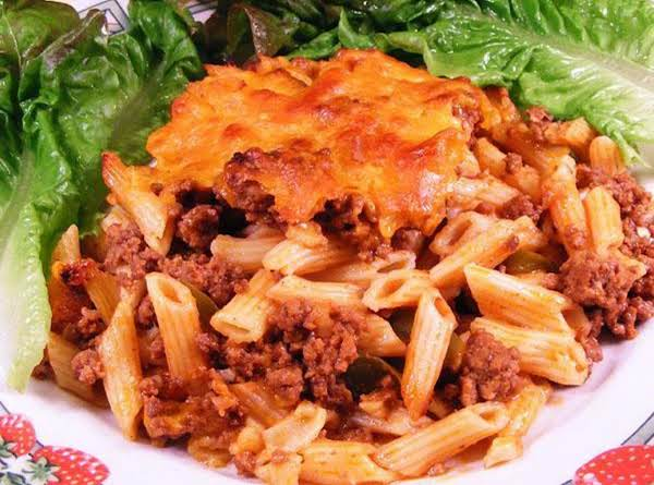 Sloppy Joe Ziti Recipe
