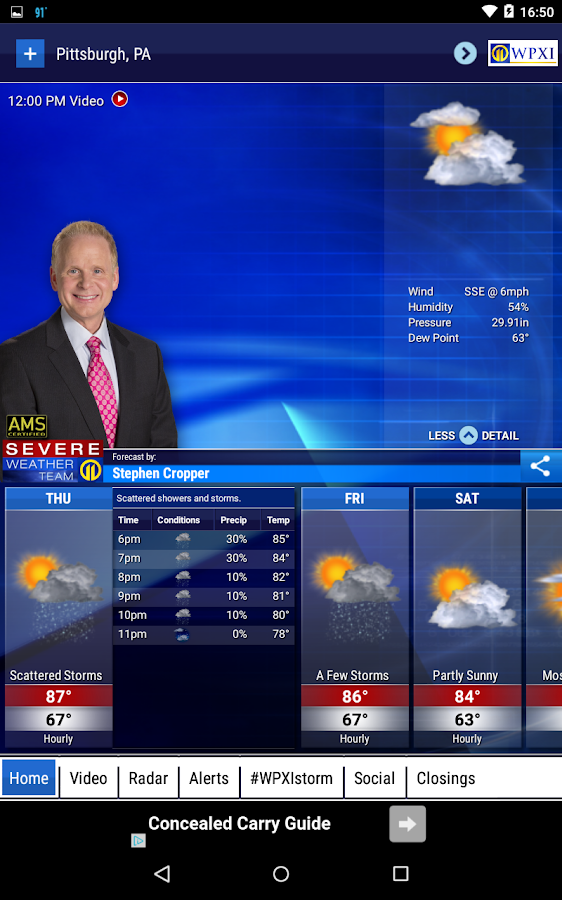 WPXI Severe Weather Team 11- screenshot