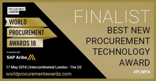 Dhatim finalist of world procurement award 2018