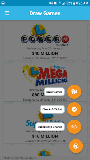 CA Lottery Official App 3.0.2 screenshots 6