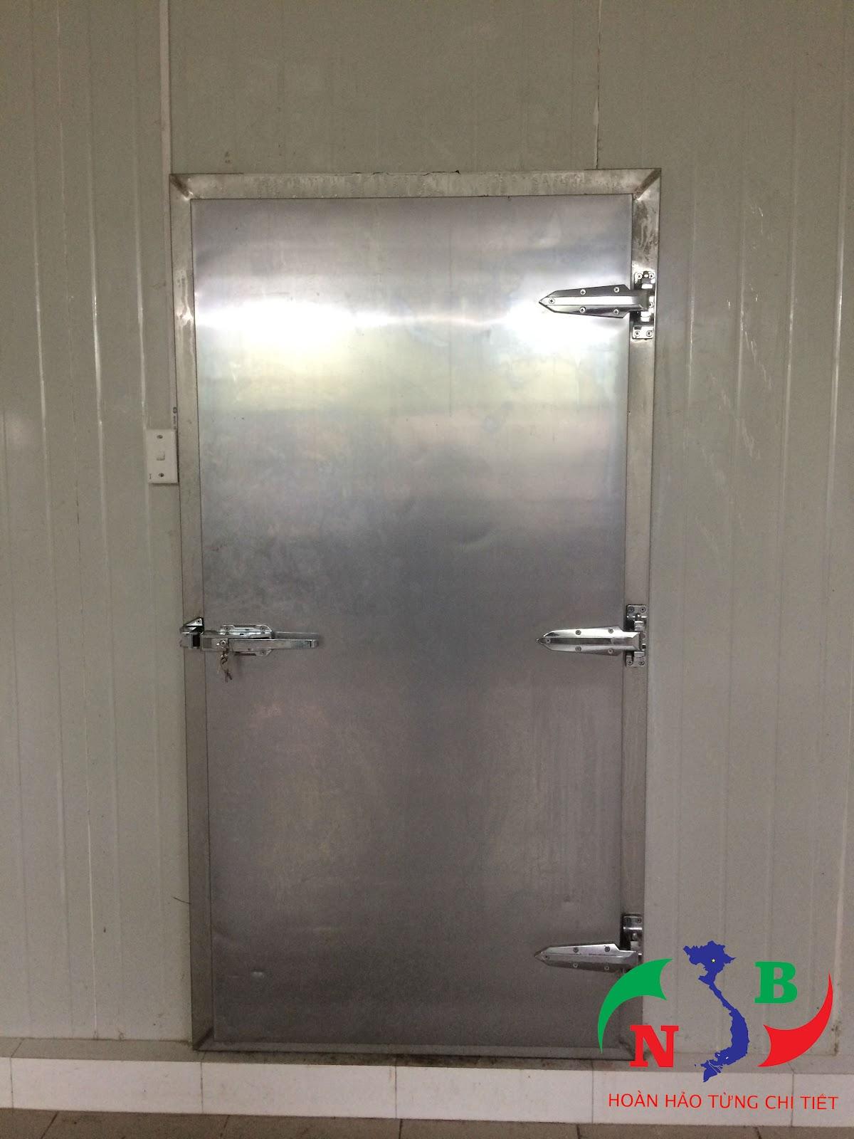 Lắp đặt hệ thống Kho Trữ Đông - Công ty thực phẩm sạch và ngon Việt Nam