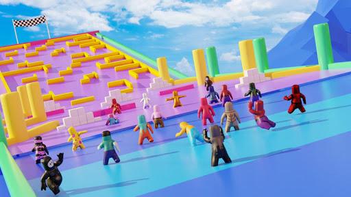 Maze guys: io games labyrinth. io. rush race 3d screenshot 4
