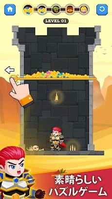 Hero Rescue - ヒーローレスキュー - プリンセスを救出のおすすめ画像1