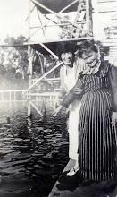 Photo: Mynette Heyman Pound, Ernestine Bernstein Heyman