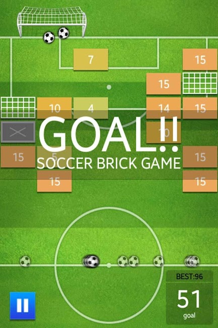 #4. Soccer Brick Game (Android)
