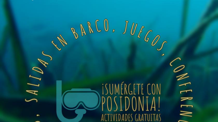 Cartel II Semana de la Posidonia del Ayuntamiento de Roquetas de Mar