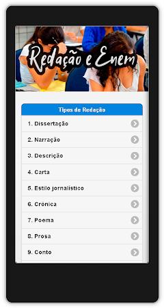 Redação Enem Nota 1000 Em 2017 1.9 screenshot 1020497