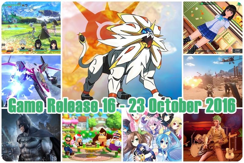 [Game Release] เกมวางตลาด 16 – 23 October 2016