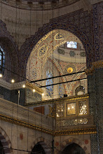 Photo: Day 115 -  The Upstairs Gallery in the Yeni Mosque