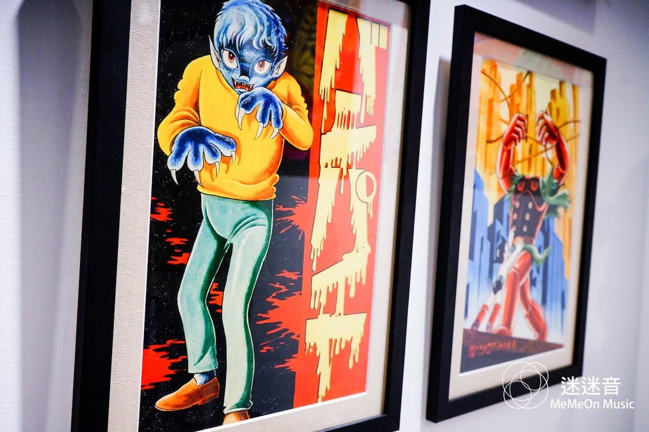 【迷迷現場】Rockin'Jelly Bean 聯Sony Suzuki 和 龍家昇在台舉行「Another Side of Tezuka」特展