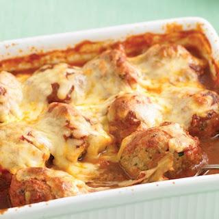 Italian Baked Meatballs.