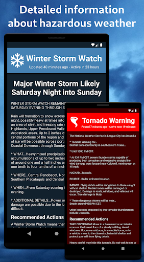 Severe Weather Alerts 1.73 screenshots 2