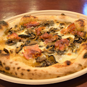 Wild Mushrooms & Speck Pizza