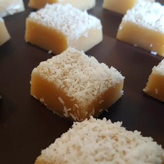 Salted Coconut Caramels.