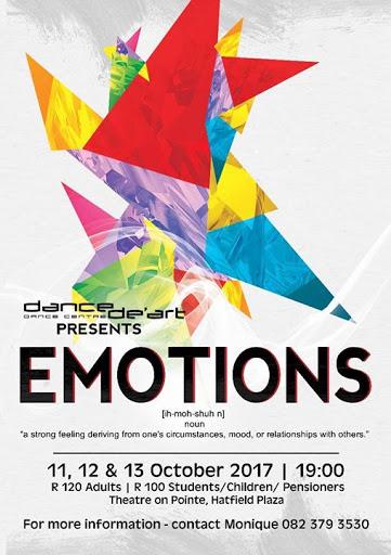 Emotions : Dance de'Art