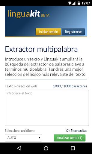 Multiword Extractor LK