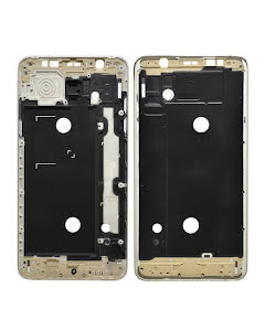 Galaxy J7 2016 Front Cover Frame Gold