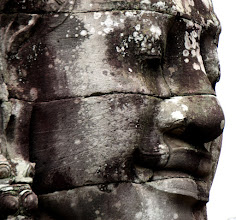 Photo: Year 2 Day 44 -  One of the Faces at The Bayon (Cambodia)