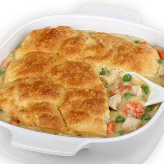 Chicken Pot Pie, Skinny-fied
