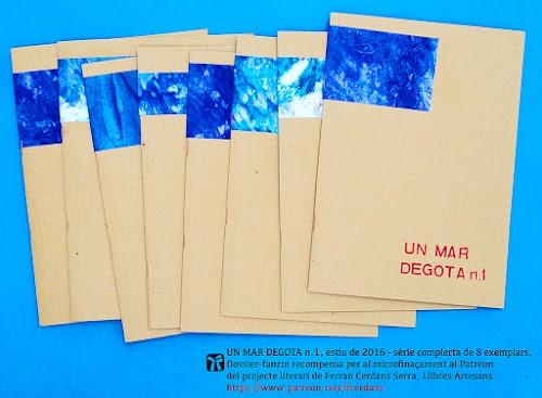 Un mar degota, revista d'autor de Ferran Cerdans Serra